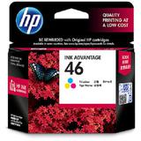 HP Color Ink Cartridge 46 [CZ638AA] - Tinta Printer HP